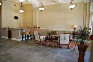 Panama Lofts lobby area