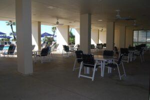 Galvestonian patio area