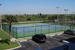 Islander East tennis courts