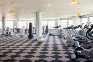 Diamond Beach fitness center