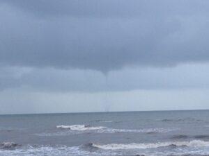 Galveston waterspout