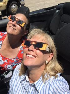 2017 solar eclipsing