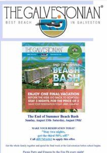 Galvestonian summer promotion