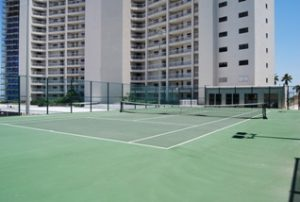 The Breakers Condominiums tennis courts
