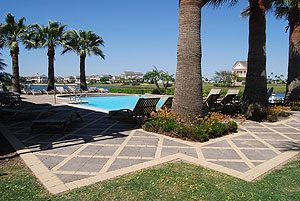 Evia Galveston swimmming pool