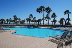 Galvestonian Condominiums swimming pool