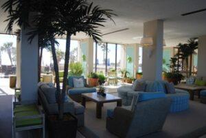 Galvestonian Condominiums lobby