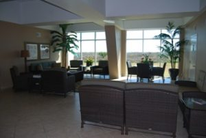 Islander East Condominiums lobby