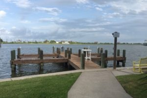 Pirates Cove Townhomes fishing pier