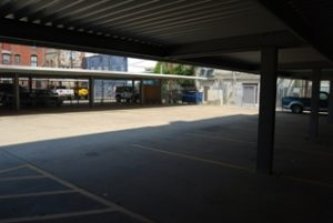 Galveston Telephone Lofts parking