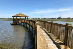 Campeche Shores Townhomes fishing pier