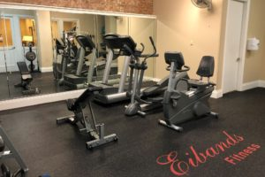 Eibands Lofts fitness room