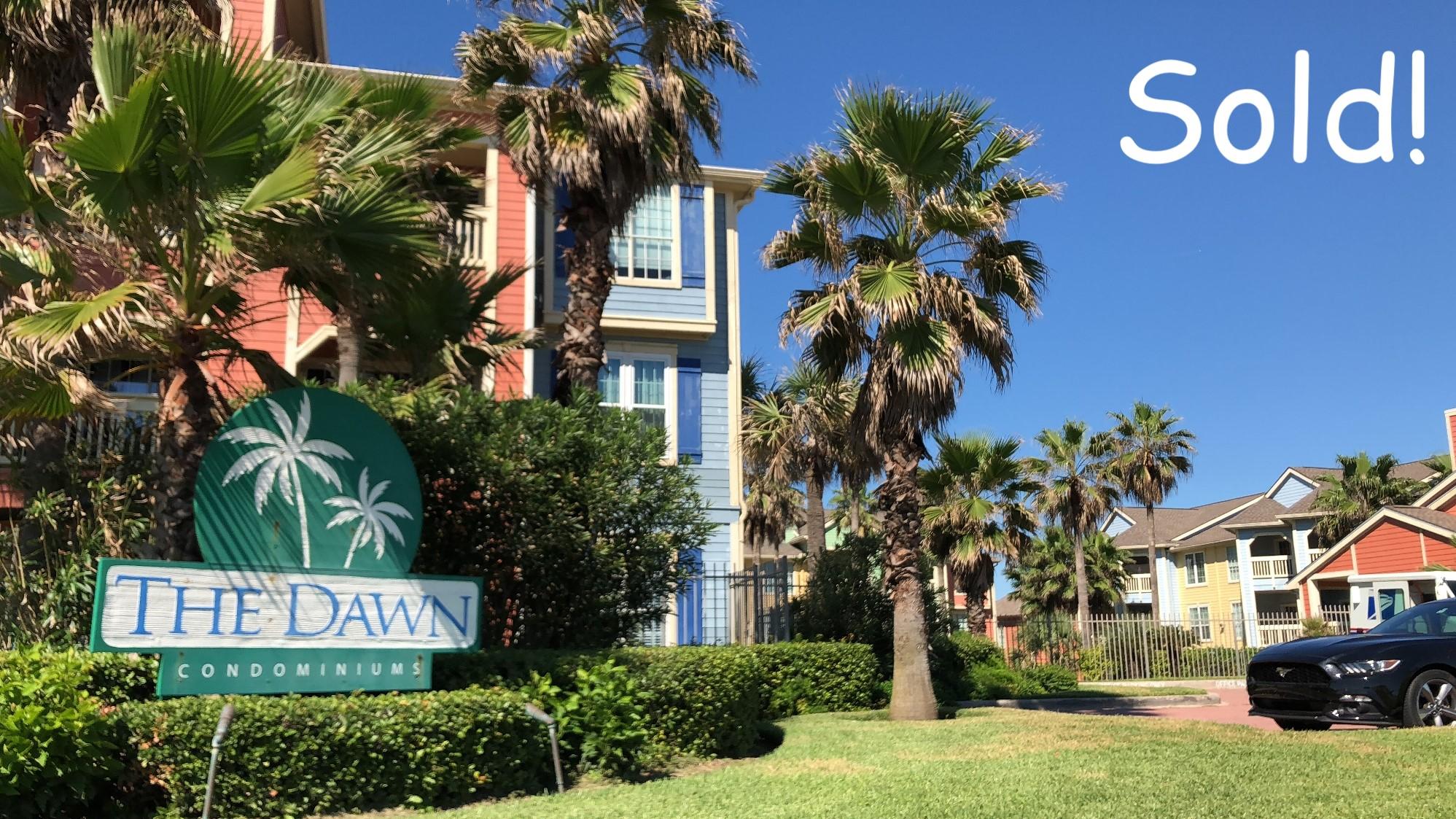 Dawn Condominiums Galveston Sold
