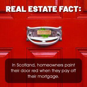 Fun fact red door