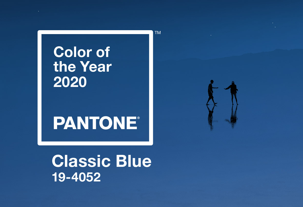 2020 Pantone Color of the Year graphic