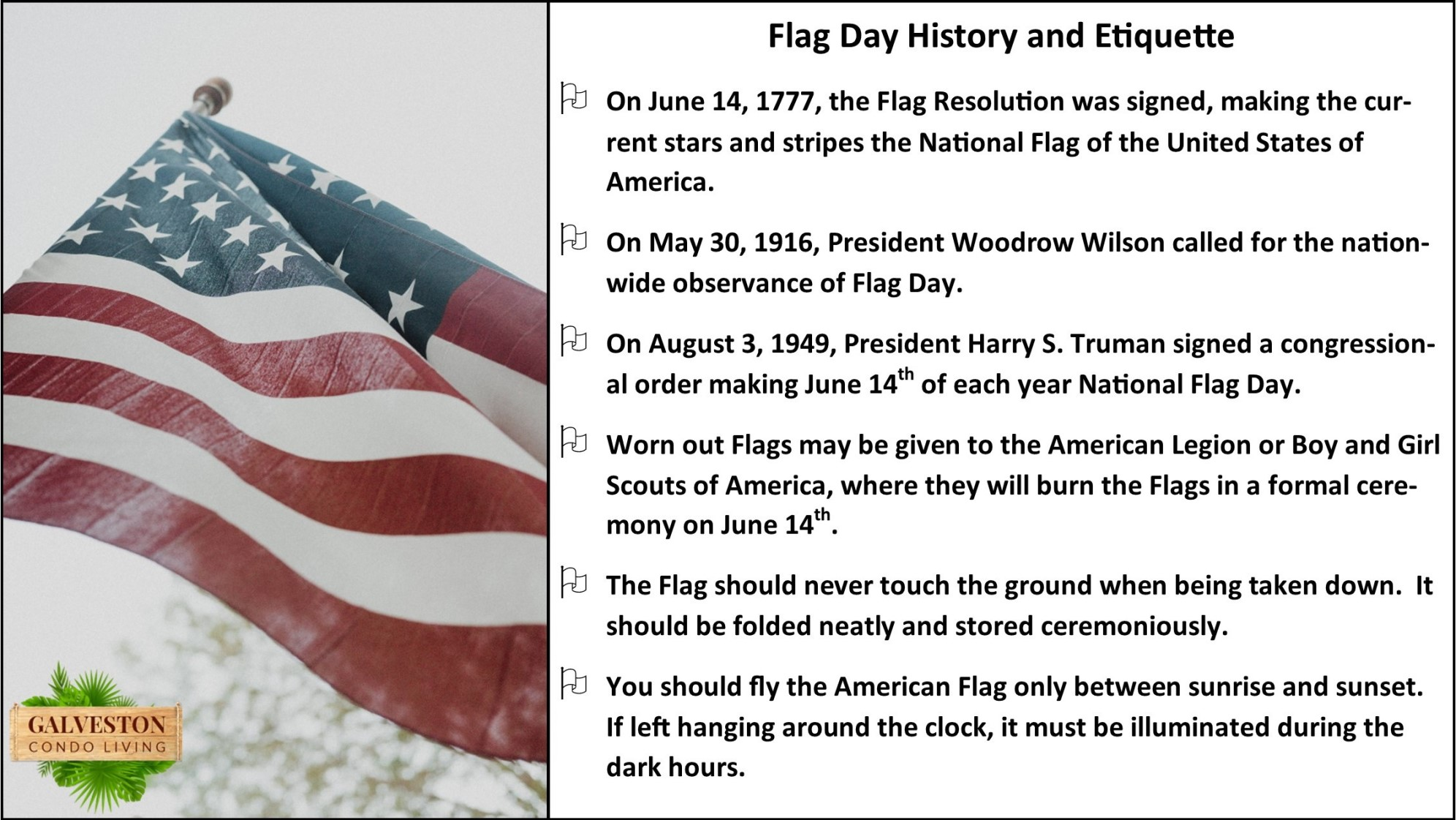 Flag Day history