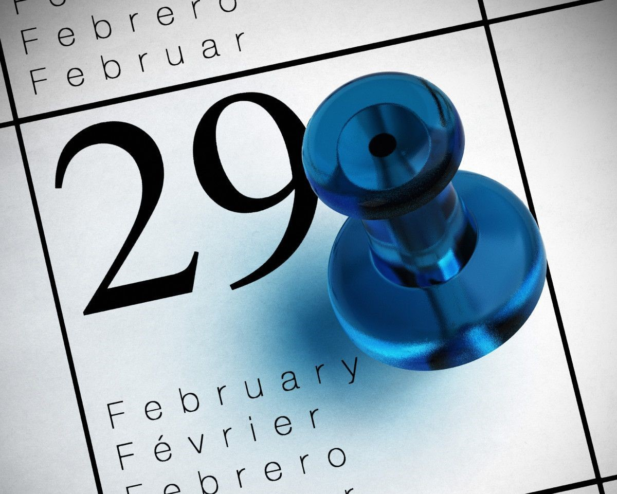Leap Year 2020 graphic