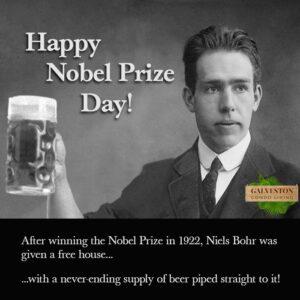 Nobel-Prize-Day fun fact