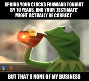 daylight savings time meme