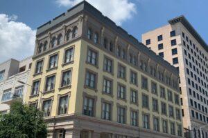 Lofts at Texas Building street view