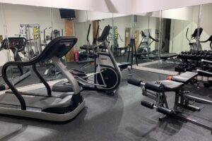 Strand Historic Lofts fitness center