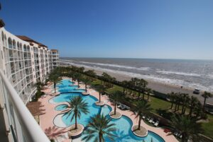 6th Floor View at Diamond Beach presented by The Galveston Condo Living Group